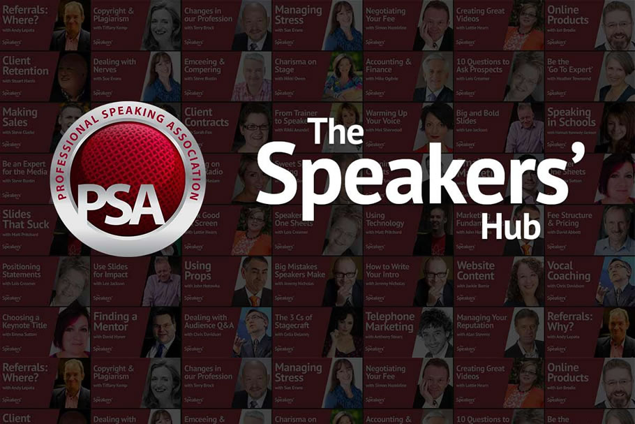 Speakers Hub Slide